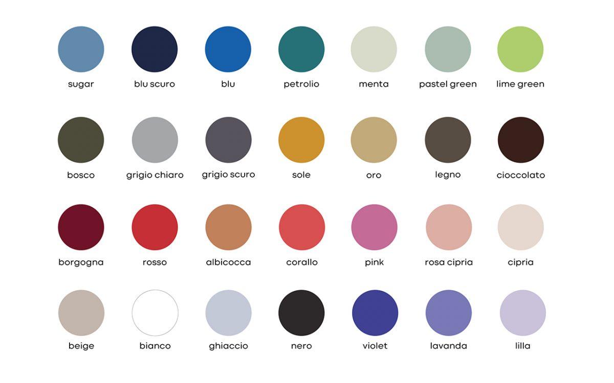 colori nastri matrimonio in seta naturale - accessori